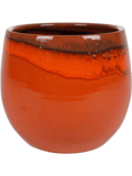 Pottery Pot Charlotte Orange